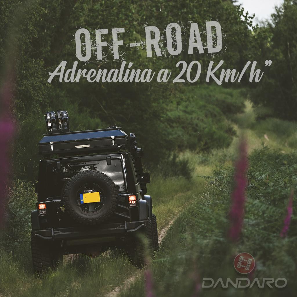 Off road Adrenalina a 20km/h